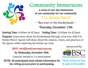 BSC Community Immersion - Peace Lutheran Church
